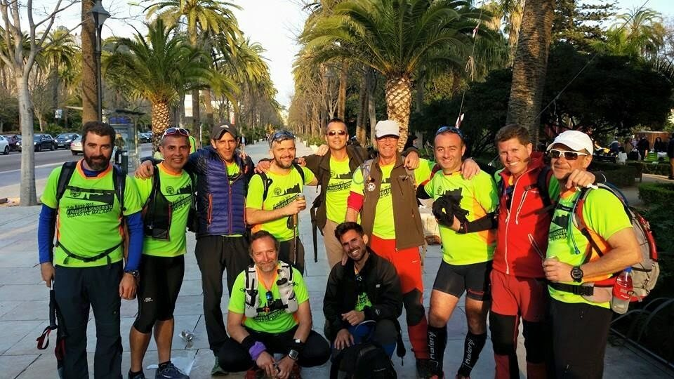 Guides at the Travesia Cuidad de Malaga