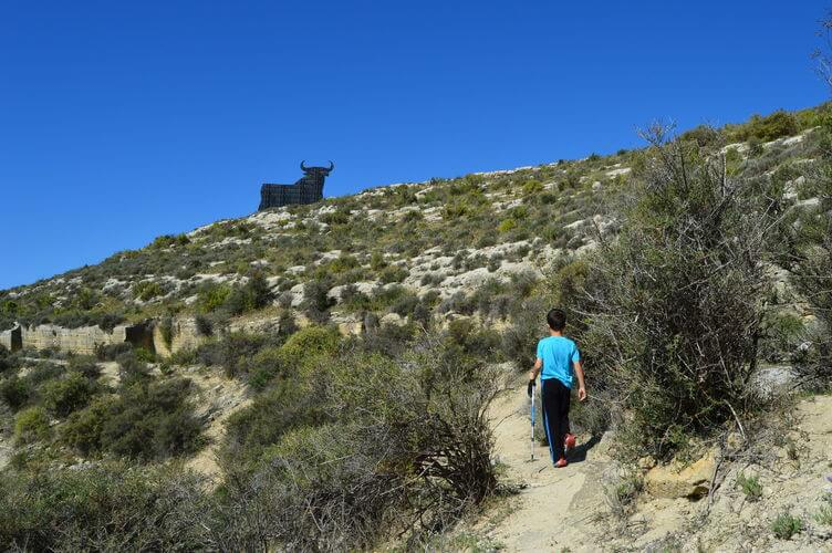 Hiking to the Osbourne Bull Torre del Mar