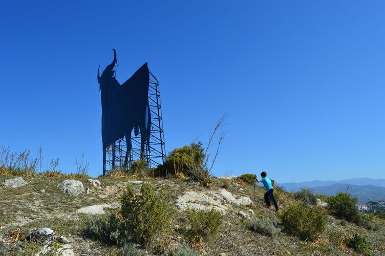 El Toro - the bull - Torre del Mar