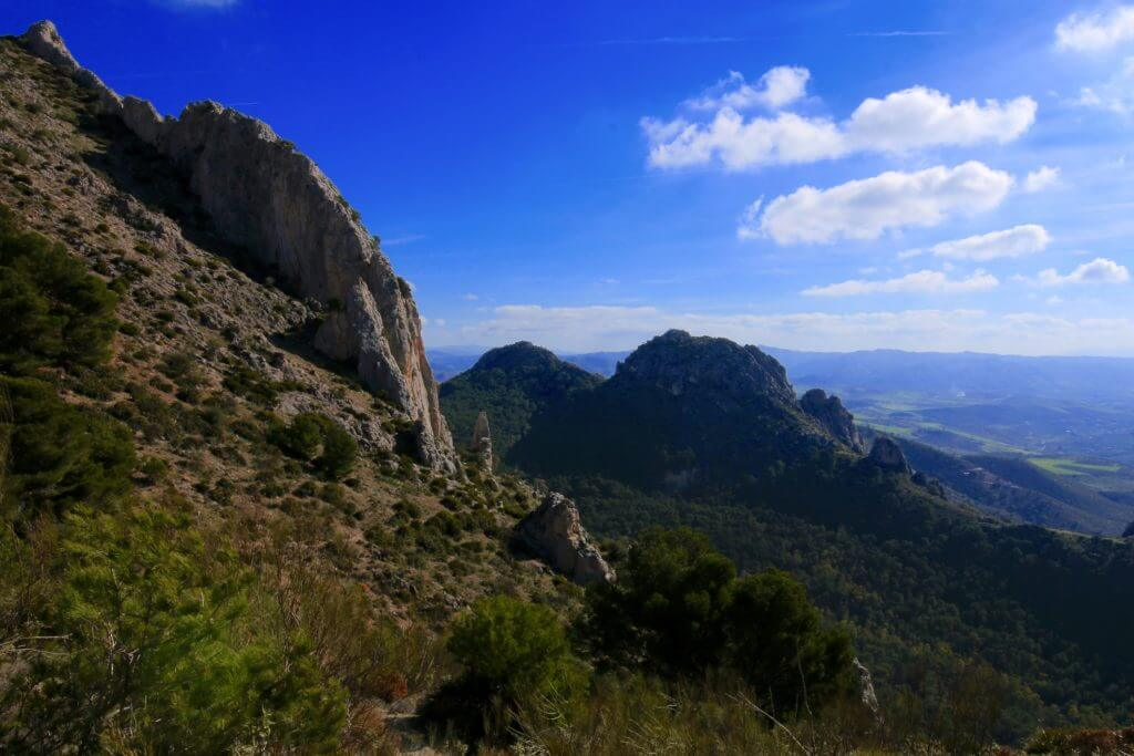 View of the mountains - El Chorro