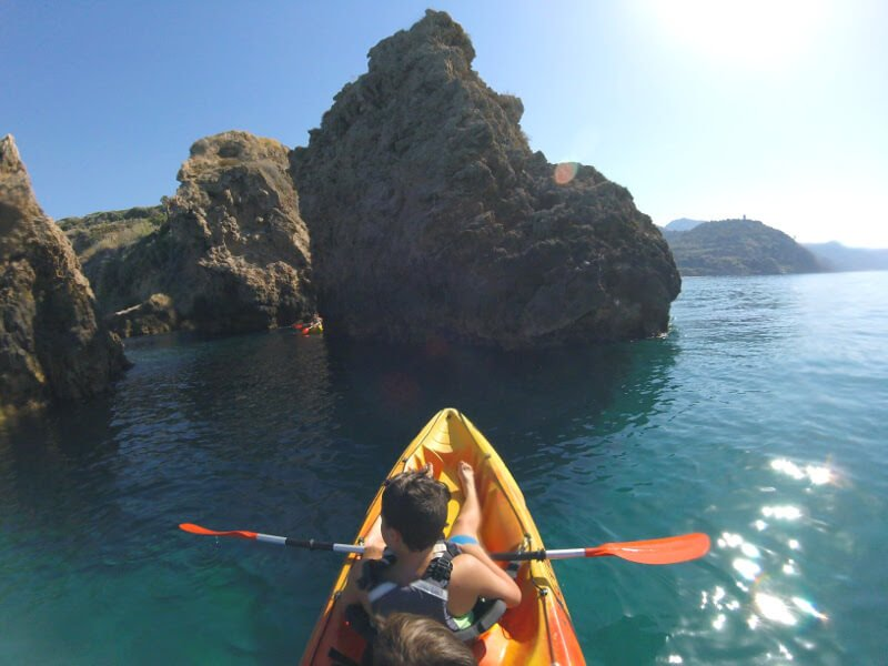 Sea kayaking Maro to Nerja